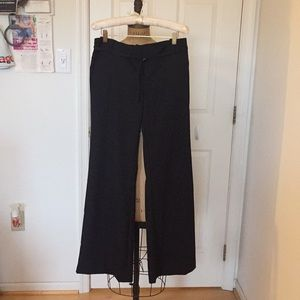 Gap Black wide leg pants